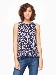 Kate Spade Spinner Double Layer Tank Nightlife Blue