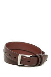 Original Penguin Milled Leather Belt Brown