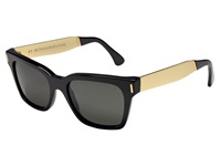 Super America Francis Black Gold Fashion Sunglasses Yellow