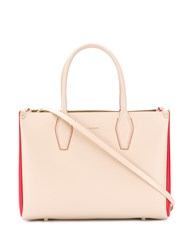 Lanvin Journee Tote Bag Neutrals