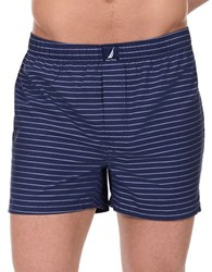 Nautica Patterned Cotton Boxers Breton Star