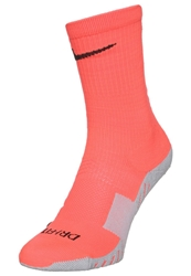 Nike Performance Stadium Crew Sports Socks Red Grey Orange