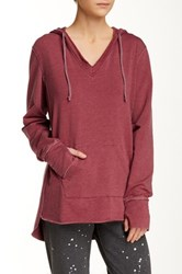 Central Park West The Super Exley Hoodie Red