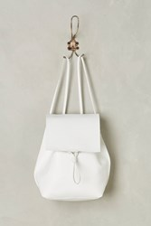 Anthropologie Polly Backpack White