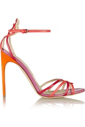 Brian Atwood Cassia Leather Sandals