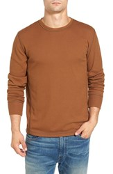 Jeremiah Men's Larsen Zigzag Thermal T Shirt Rosewood