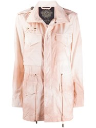 Mr And Mrs Italy Tonal Fitted Jacket Pink