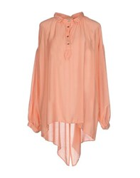 Met And Friends Shirts Blouses Women Salmon Pink