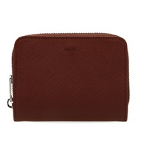 A.P.C. Compact Zip Wallet Brown