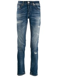 Dondup Distressed Denim Jeans Blue