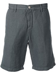 Massimo Alba Chino Tailored Shorts Grey