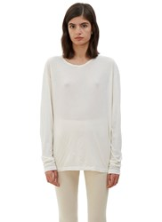 Lauren Manoogian Vellum Long Sleeved Top Naturals