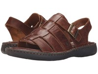Born Joshua Cymbal Full Grain Leather Men's Sandals Brown