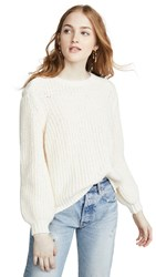 Frame Swing Sweater Off White