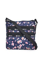 Le Sport Sac Lesportsac Candace North South Crossbody Bag Spring Bloom