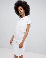 Cheap Monday Whirl Printed Cocoon Dress White