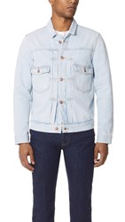 Tom Wood Denim Jacket Light Stone Wash