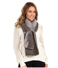 Ugg Classic Panel Scarf Grey Scarves Gray