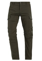 Dockers Better Bic Cargo Trousers Olive Khaki