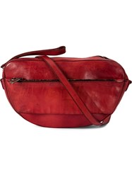 Numero 10 Relaxed Style Shoulder Bag Red