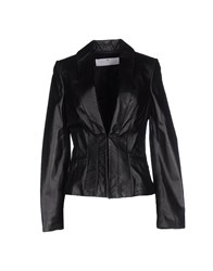 Elisabetta Franchi Gold Suits And Jackets Blazers Women Black