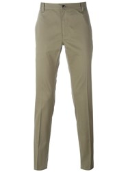 John Varvatos Classic Chinos Green