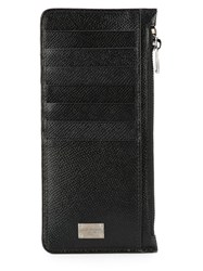 Dolce And Gabbana Long Cardholder Wallet Black