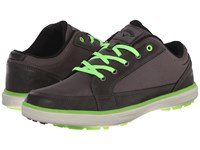 Callaway Del Mar Ballistic Grey Grey Lime Men's Golf Shoes Gray