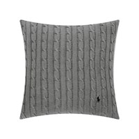 Ralph Lauren Home Cable Cushion Cover 45X45cm Charcoal