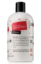 Philosophy Shimmering Snow Lace Shampoo Shower Gel And Bubble Bath No Color