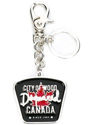 Dsquared2 Logo Key Ring Black