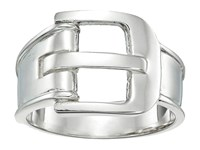 Shinola Detroit Sterling Silver Wide Buckle Ring Sterling Silver Ring