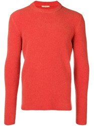 Nuur Round Neck Jumper Orange