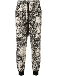 Song For The Mute Printed Track Trousers Multicolour