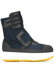 Marni Ankle Boot Sneakers Blue