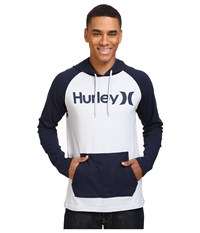 Hurley One Only Raglan Jersey Wolf Grey Obsidian Men's Clothing Gray