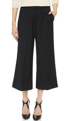 James Jeans Julie Wide Leg Culottes Silky Blue Black