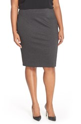 Plus Size Women's Vince Camuto Ponte Knit Skirt
