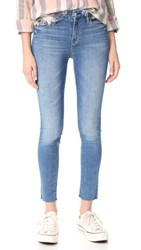 Mother The Looker Ankle Fray Jeans Birds Of Paradise
