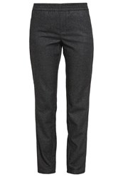 M A C Mac Amelie Easy Trousers Anthrazit Anthracite