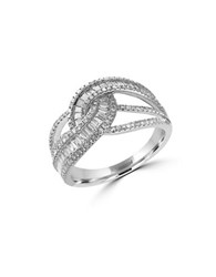 Effy Classique 0.98 Tcw Diamonds And 14K White Gold Ring