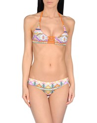 Khongboon Swimwear Bikinis Orange