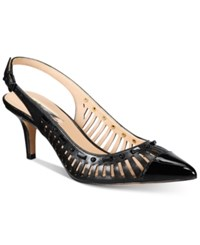 Inc International Concepts Women's Dehany Slingback Pumps Only At Macy's Women's Shoes Black