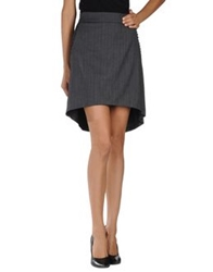 Imperial Star Imperial Mini Skirts Steel Grey