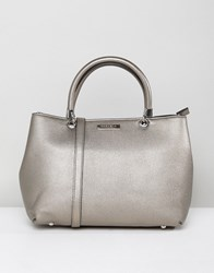 Carvela Dina Winged Tote Bag Grey