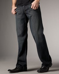 7 For All Mankind Montana Relaxed Jeans Dark Blue