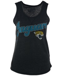 G3 Sports Women's Jacksonville Jaguars Glitter Tank Top Black