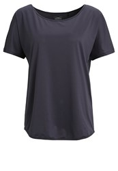 Venice Beach Bella Basic Tshirt Graphit Anthracite