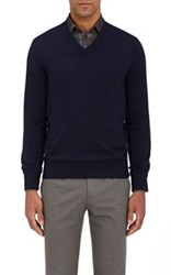 Fioroni Men's Summer Duvet Sweater Navy