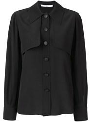 Givenchy Layered Front Shirt Black